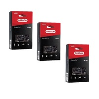 "3 X CHAINSAW CHAIN OREGON 15"" HUSKI & PARTNER  64 325 050"
