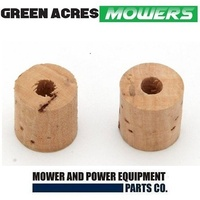 VICTA FUEL TAP CORK X 2 FOR EARLY MODEL VICTA LAWNMOWER AND VILLERS MOTORS