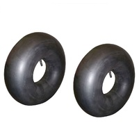 2 X RIDE ON MOWER TUBE 20 X 8.00 X 8 STRAIGHT STEM VALVE