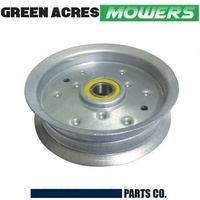 "FLAT IDLER PULLEY FOR JOHN DEERE MOWERS L100 LA100 D100 Sabre 42"" GY20629"