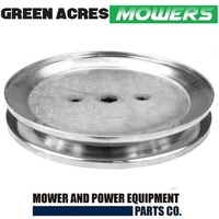 BLADE SPINDLE PULLEY FOR SELECTED D & L SERIES JOHN DEERE MOWERS GX20367