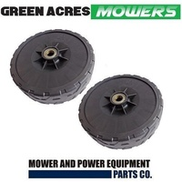 2 X GENUINE FRONT WHEELS FOR SANLI LAWN MOWER FITS LCS400