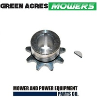 DRIVE SPROCKET & KEY SELECTED COX STOCKMAN, ECONOMY SUPANOVA MOWERS SKIT65