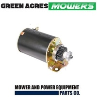 RIDE ON MOWER  STARTER MOTOR FOR  BRIGGS AND STRATTON MOTORS