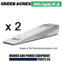 2 X NEW  ALUMINIUM / ALLOY CHAINSAW TREE FELLING WEDGE 7 INCH