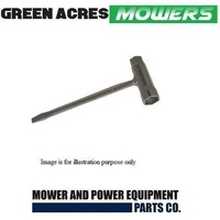 "LAWN MOWER TRIMMER CHAINSAW SPARK PLUG  SPANNER  13 x 16mm  or 1/2"" x 5/8"""