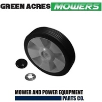6 INCH WHEEL & RETAINER FOR ROVER MASPORT VIKING LAWN MOWERS
