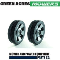 2 X 7 1/2 INCH WHEELS FOR ROVER LAWN MOWERS