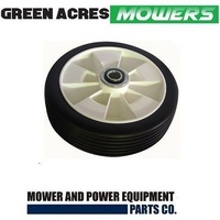 "8"" INCH WHEELS FOR ROVER MASPORT VICKING LAWN MOWERS WITH SEALED BEARINGS"