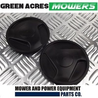 2 X HUB CAPS FOR  VICTA LAWN MOWERS WHEELS