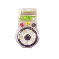 "WHEEL LAWNMOWER 8 INCH  AND 6 BUSHES 3/8"" ,1/2"" , 9/16"""