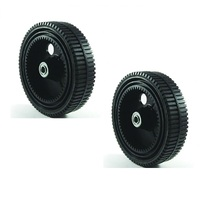 "LAWN MOWER REAR WHEELS FOR SELECTED 20"" ROVER SELF PROPELLED MOWER"