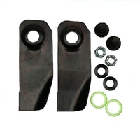 "18"" BLADES AND BOLTS SET FITS SELECTED  BUSHRANGER LAWNMOWERS"