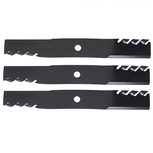 TOOTHED MULCHING BLADES FITS SELECTED 48 INCH JOHN DEERE MOWER M115495