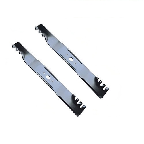 "42"" BLADES MTD & CUB CADET PREDITOR GATOR TYPE TOOTHED MULCHING FIT 6 POINT STAR"