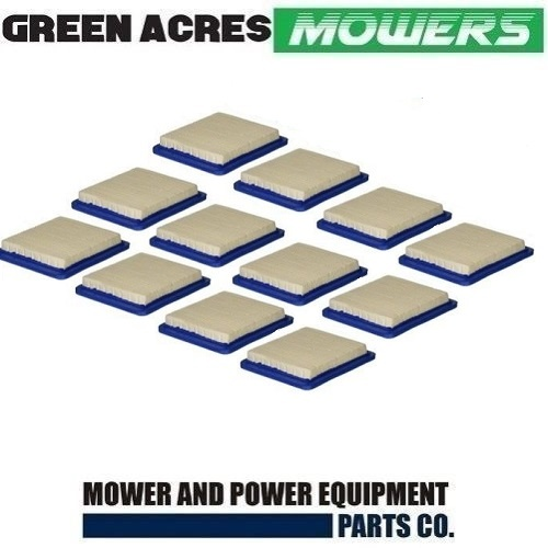 12 X LAWN MOWER AIR FILTER FOR BRIGGS & STRATTON QUANTUM HONDA MOTORS
