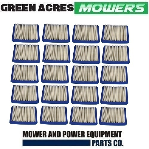 20 X LAWN MOWER AIR FILTER FOR BRIGGS & STRATTON QUANTUM MOTORS