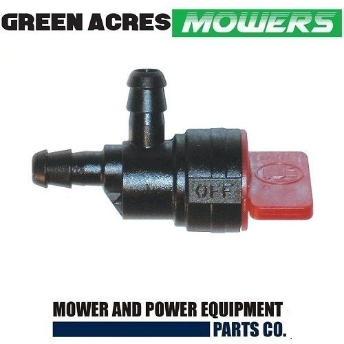 INLINE FUEL TAP FITS LAWN MOWERS AND RIDE ON MOWERS BRIGGS TECUMSEH HONDA