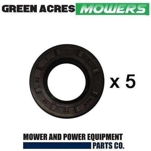 5 x LAWN MOWER OIL SEAL FOR VICTA MOWERS 17mm  HA25004A